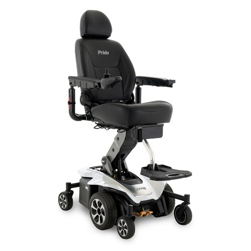 White Pride Mobility Jazzy Air 2 Power Chair