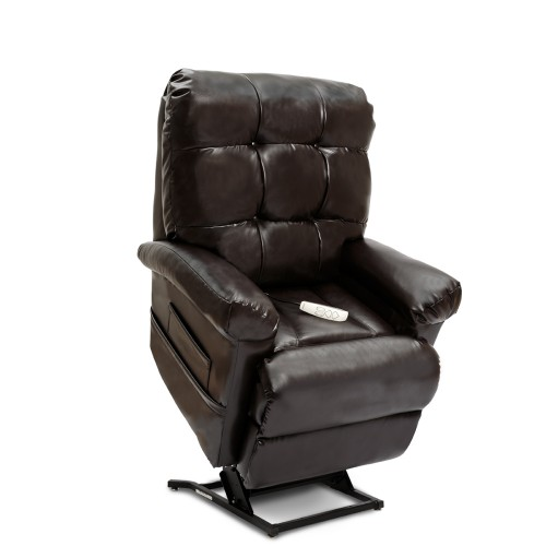 Dark Brown Pride Mobility Oasis LC-580i Infinite Position Lift Chair