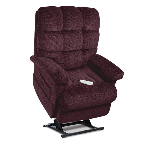 Maroon Pride Mobility Oasis LC-580i Infinite Position Lift Chair