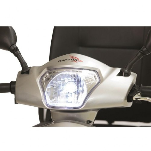 LED Light on Pride Raptor 3 Wheel Mobility Scooter