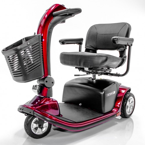 Red Pride Victory 9 3-Wheel Mobility Scooter