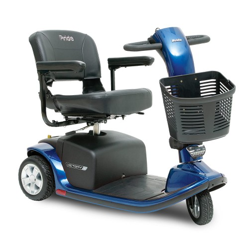 Blue Pride Victory 9 3-Wheel Mobility Scooter
