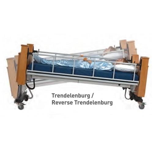 Trendelenburg and Reverse Trendelenburg of ProBed Medical The Freedom Bed Package