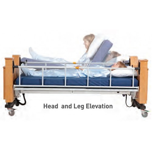 ProBed Medical The Freedom Bed Package with Head and Leg Elevation