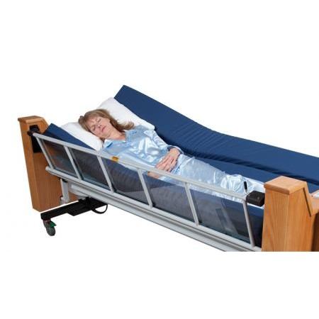 Woman sleeping in a ProBed Medical The Freedom Bed Package