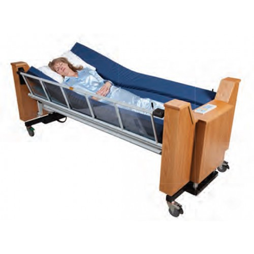 Woman sleeping in ProBed Medical The Freedom Bed Package