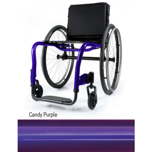 Candy Purple Quickie QRi Rigid Manual Wheelchair