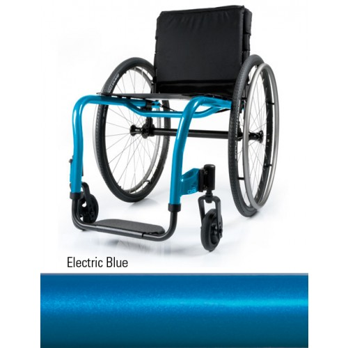 Electric Blue Quickie QRi Rigid Manual Wheelchair