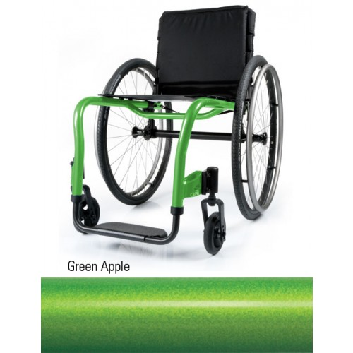 Green Apple Quickie QRi Rigid Manual Wheelchair