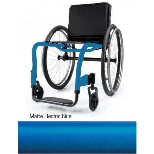 Matte Electric Blue Quickie QRi Rigid Manual Wheelchair