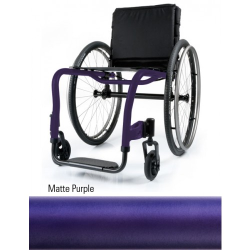 Matte Purple QRi Rigid Manual Wheelchair