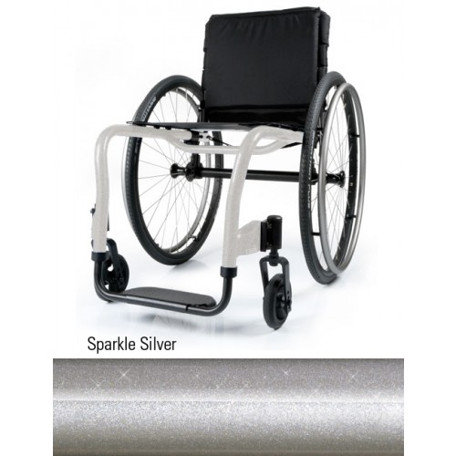 Sparkle Silver QRi Rigid Manual Wheelchair