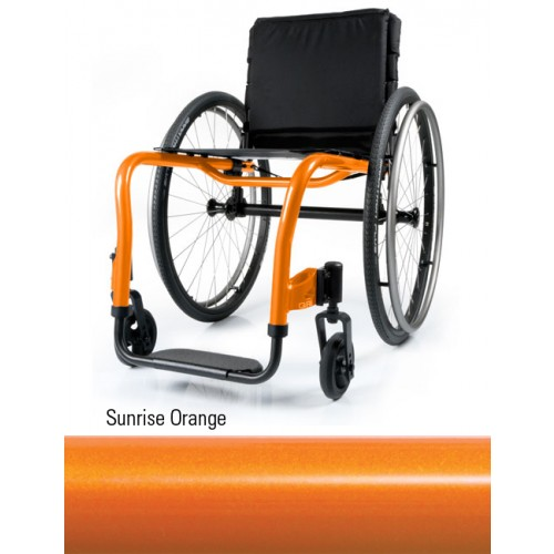 Sunrise Orange QRi Rigid Manual Wheelchair