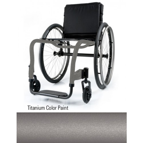 Titanium Color Paint QRi Rigid Manual Wheelchair