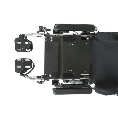 Top view of Quickie Iris Tilt-in-Space Manual Wheelchair