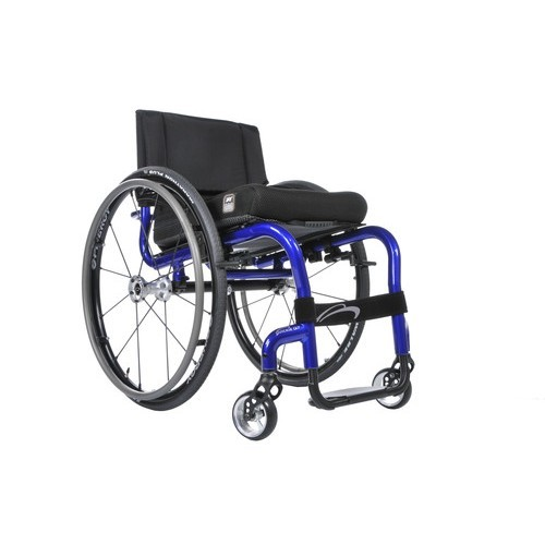 Blue Quickie Q7 NextGen Manual Rigid Wheelchair