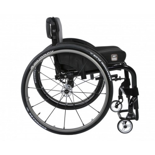 Side view of Quickie Q7 NextGen Manual Rigid Wheelchair