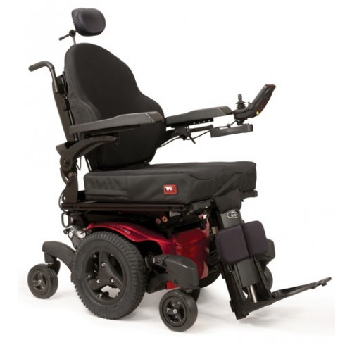 Quickie QM-7 Series Mid-Wheel Power Wheelchair