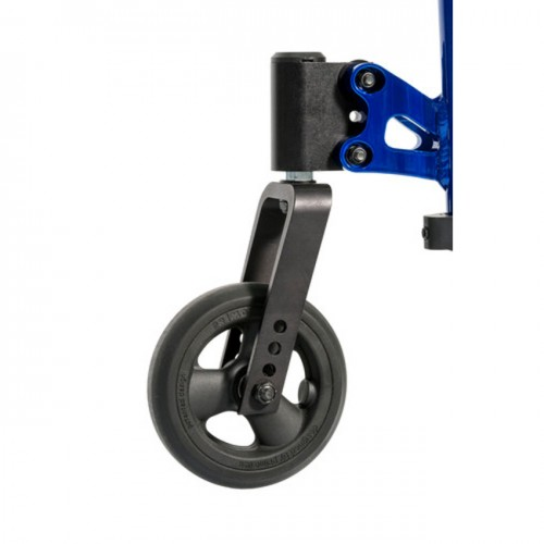 Wheels of a QRi Rigid Manual Wheelchair