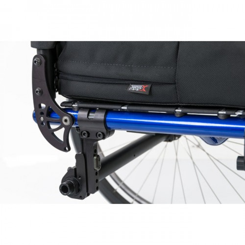 Blue QRi Rigid Manual Wheelchair