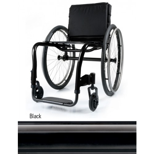 Black Quickie QRi Rigid Manual Wheelchair