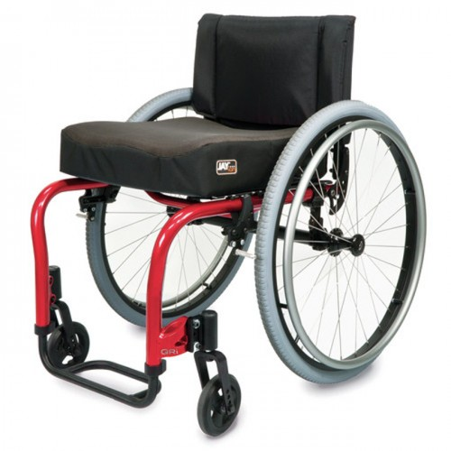 Red Quickie QRi Rigid Manual Wheelchair