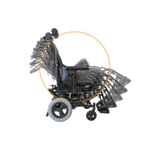 Quickie SR45 Tilt-in-Space Manual Wheelchair