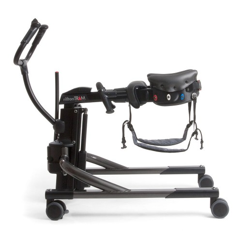 Side view of Rifton Tram Lift (Gait Trainer & Sit-To-Stand Lift) Rental