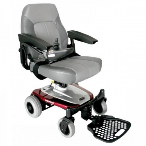 Red and White Cushion of Shoprider Smartie Travel Power Wheelchair