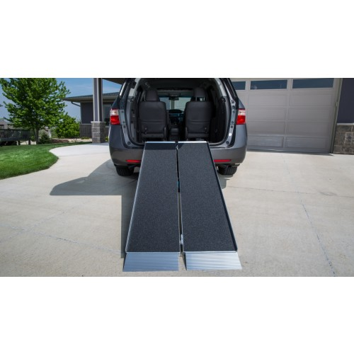 Suitcase Singlefold Wheelchair Ramp Rental (5ft or 6ft)