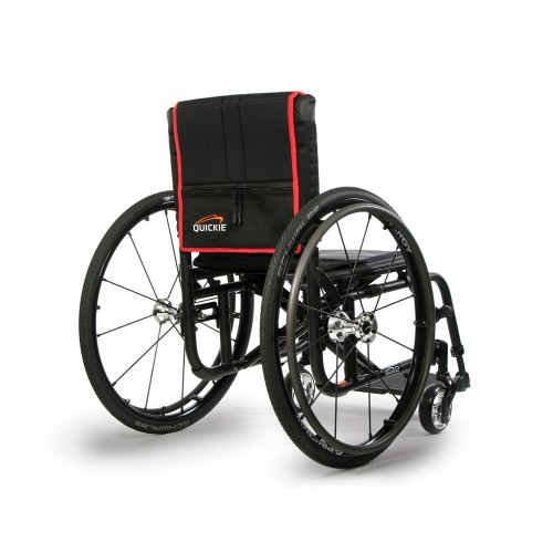 Back view of Sunrise Medical Quickie 2 Lite Ultralight Wheelchair