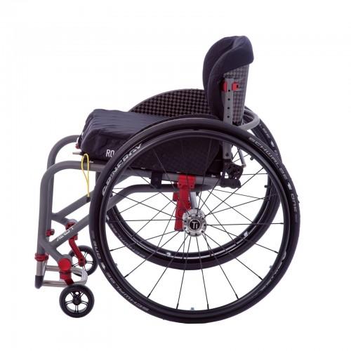 Side view of TiLite Aero T Rigid Manual Wheelchair