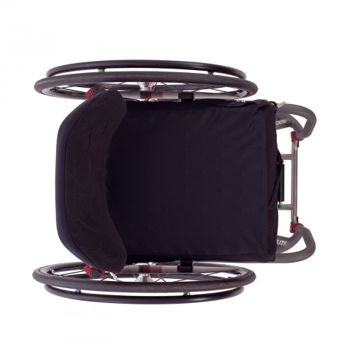 Top View of TiLite Aero T Rigid Manual Wheelchair