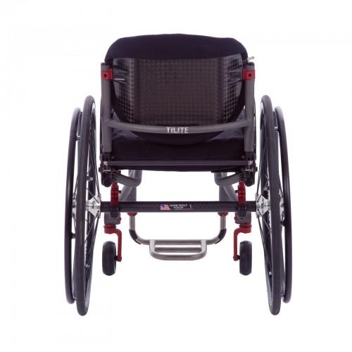 Back view of TiLite Aero T Rigid Manual Wheelchair