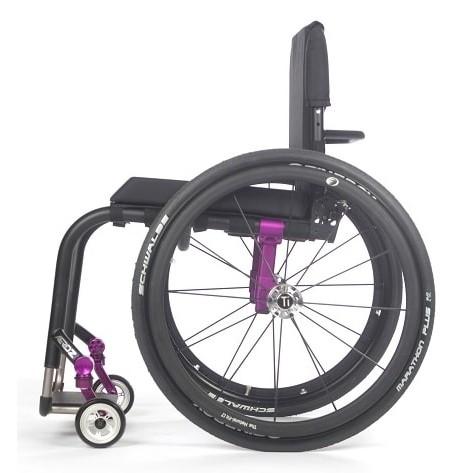 Side view of TiLite Aero Z Rigid Manual Wheelchair