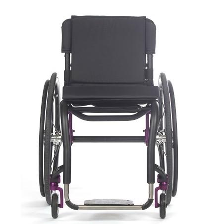 Front view of TiLite Aero Z Rigid Manual Wheelchair