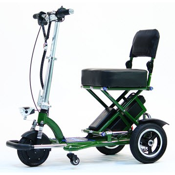 Green Triaxe Sport Scooter