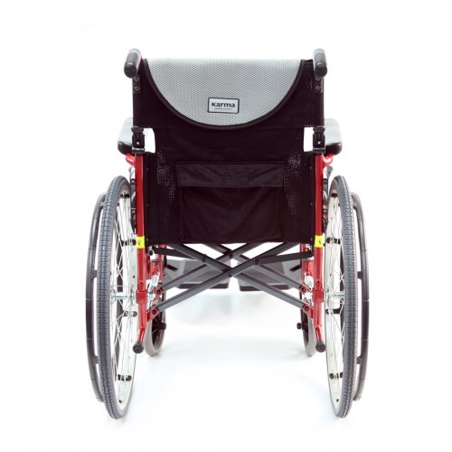 Back view of Ultra Light Folding Wheelchair Rental