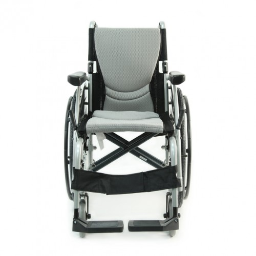 Front view of Ultra Light Folding Wheelchair Rental
