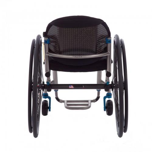 Back view of TiLite ZR Titanium Rigid Wheelchair