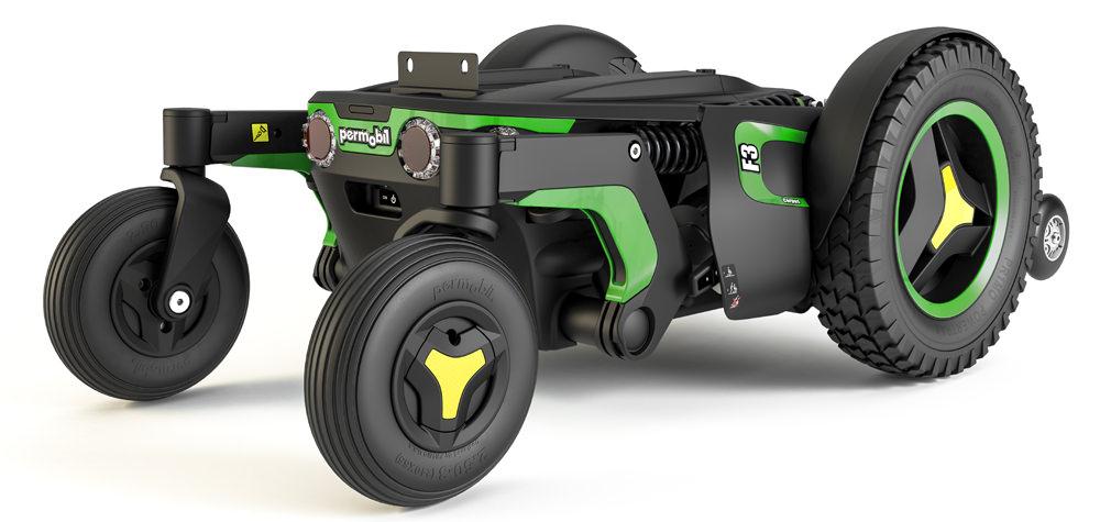 Permobil F3 Corpus Front Wheel Power Wheelchair