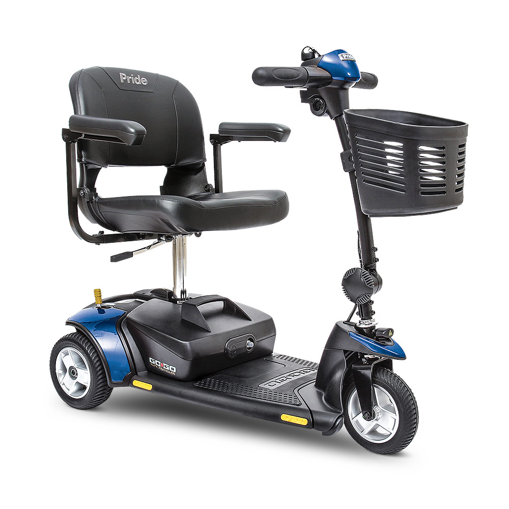 Pride go go ultra x 3 wheel mobility scooter for Mobility scooters