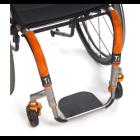 Titanium Footrest w/ Flat ABS Cover