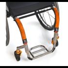 Titanium Open Loop Footrest (SuperLite Edition)