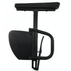 """Removable Desk Arm w/Height Rigid Side Guard - 12""""-15"""""""