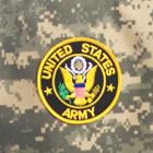 """4"""" Logo Patch - Army"""