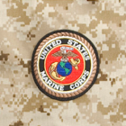 "4"" Logo Patch - Marines"