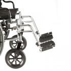 Swing-Away Footrests Aluminum Ftpts. w/ Heel Loops