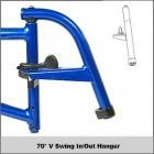 60° Swing In/Out Hanger