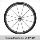 "24"" Spinergy Black Spokes LX"